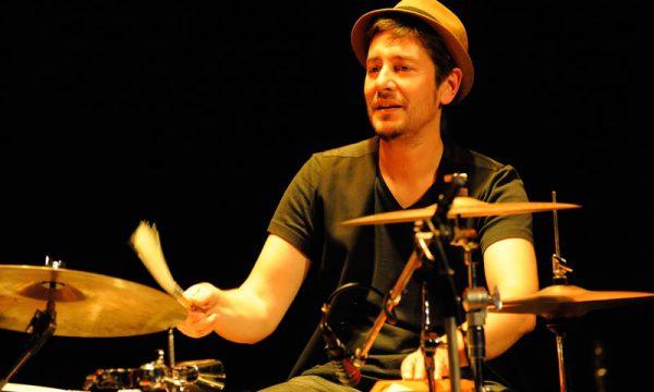 Festival ParisVienne, Samuel Devauchelle (Drums) Paris 2014, Copyright Cornelius Van Voorthuizen
